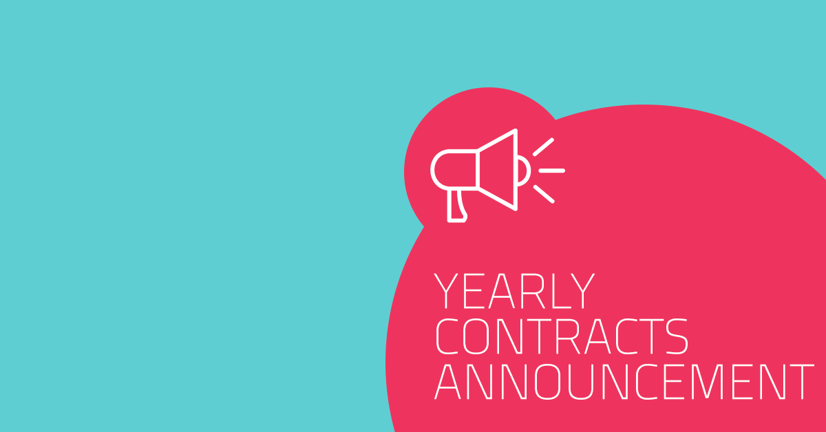 Yearly contracts announcement